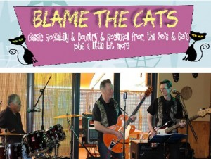 Blame the Cats Poster